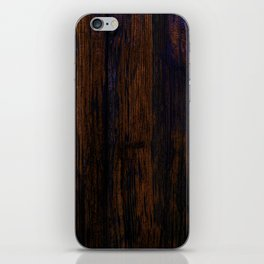 red wood texture background iPhone Skin