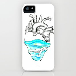 I Sea Love iPhone Case