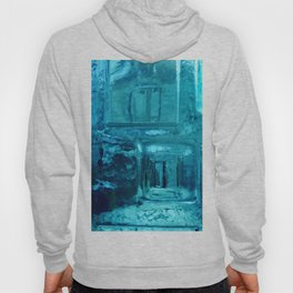 355 - Abstract Design through the Blue Bottle Hoody