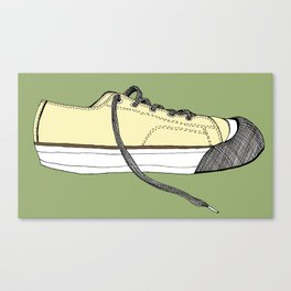 Sneaker in profile Canvas Print