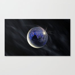 Late Peace Canvas Print