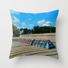 #SKATE PARC ORLANDO FLORIDA, USA by Jay Hops Throw Pillow