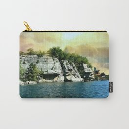 Golden Sky Over the Mountain - Mohonk Carry-All Pouch