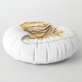 Pancakes Floor Pillow