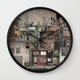 Home is where your heart is. Wall Clock
