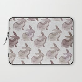 Watercolor Bunnies 1M by Kathy Morton Stanion Laptop Sleeve