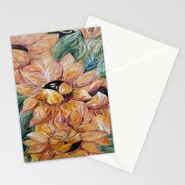 Sunflower Blitz Stationery Cards