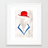 agent carter Framed Art Prints featuring Agent by Sebastian DeTemple
