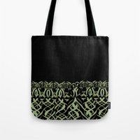 tigers Tote Bags featuring Tigers by Camille Hermant