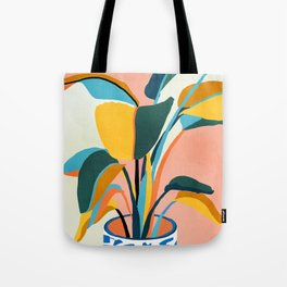 Nature Does Not Hurry Yet Everything Is Accomplished #painting Tote Bag