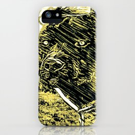 Pit Bull Models: Khan 02-01 iPhone Case