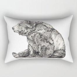 Bear // Graphite Rectangular Pillow