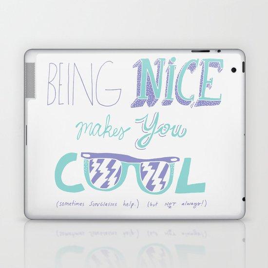 Being Nice Laptop & iPad Skin