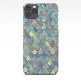 Ocean, Shimmer, Mermaid Art iPhone Case