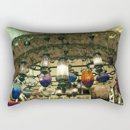 Turkish Lanterns! Rectangular Pillow