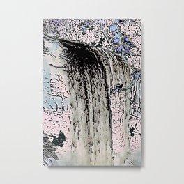 "series waterfall ""Cachoeira Grande"" I Metal Print"