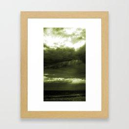 Layered Storm Framed Art Print