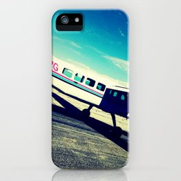 leaving on a jet plane iPhone Case