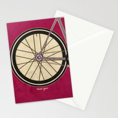 Single Speed Bicycle Stationery Cards