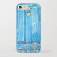 door iPhone & iPod Cases featuring door by Hannah