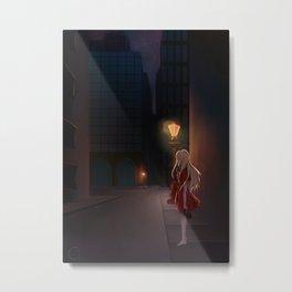 Lady in the Dark Metal Print