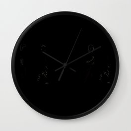 The Distrac-a-Attack Wall Clock