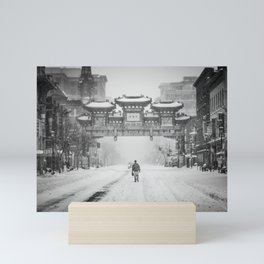 China snow Mini Art Print
