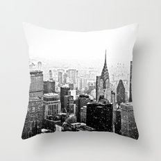 New York City Chrysler Building Throw Pillow