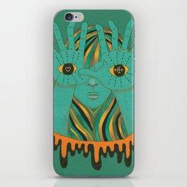 eyes of gypsy  iPhone Skin