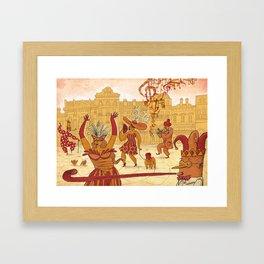 Mardi Gras! Framed Art Print