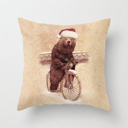A Barnabus Christmas Throw Pillow