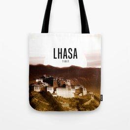 Lhasa Wallpaper Tote Bag