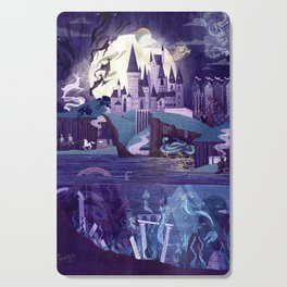 The Castle on the Hill Cutting Board