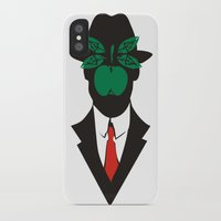 magritte iPhone & iPod Cases featuring René Magritte by Fen_A