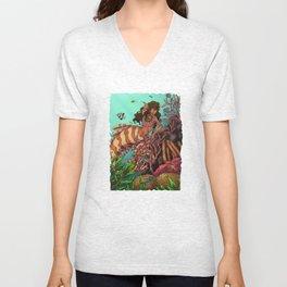 Tropical Beauty Unisex V-Neck