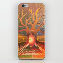 New Year in The Smart City iPhone Skin