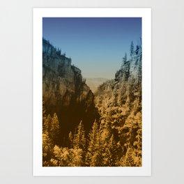 Valley Tryst Art Print