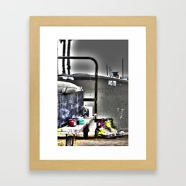 Artist´s shoes Framed Art Print