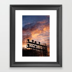 All Our Yesterdays Framed Art Print