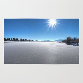 A Cold Winters Day Rug