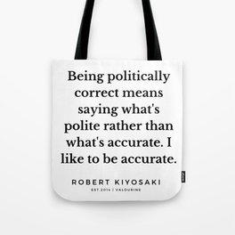 47   |  Robert Kiyosaki Quotes | 190824 Tote Bag