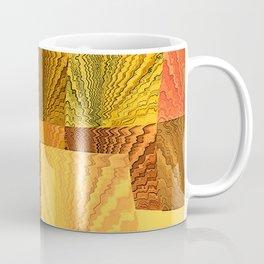 Abstract Digital Artwork Golden State Coffee Mug