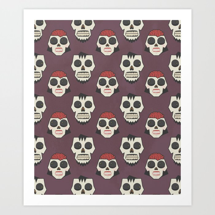 Till Death Do Us Part? (Patterns Please) Art Print