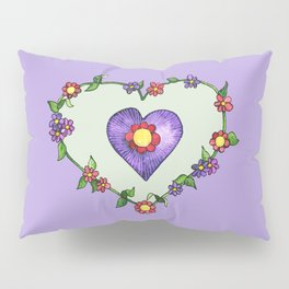 Heartily Floral Pillow Sham