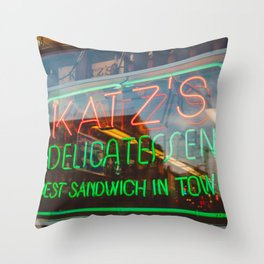 Katz III Throw Pillow