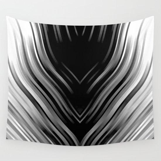 stripes wave pattern 3 bwii by gxp-design
