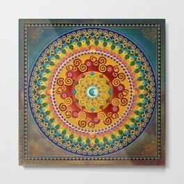 Mandala Epiphaneia Metal Print