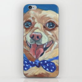 The Chihuahua A Day at Play iPhone Skin