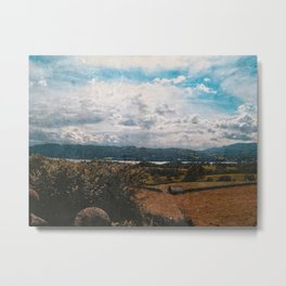 Hills of Windermere, England Metal Print