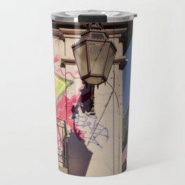 Graffiti wall Travel Mug